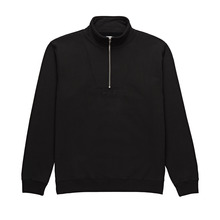 View the Polar Heavyweight Zip Neck - Black from the Hoods and Crews clothing range online today from Boarderline