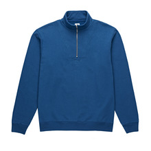 View the Polar Heavyweight Zip Neck - Indigo from the Hoods and Crews clothing range online today from Boarderline