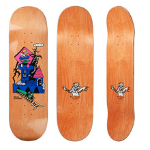 "View the Polar Oski Castle Life Deck - 8.375"" from the Decks clothing range online today from Boarderline"
