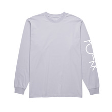 View the Polar Script Long Sleeve - Dusty Lavender from the T-Shirts clothing range online today from Boarderline