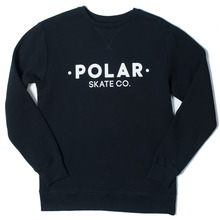 Polar Skate Co. Default Crew - Black