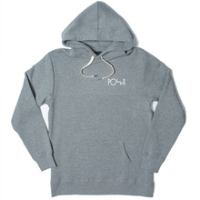 Polar Skate Co. Fill Logo Hood - Heather Grey