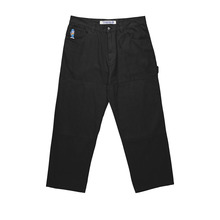 View the Polar Skate Co 93 Canvas Pant - Black from the Jeans & Pants clothing range online today from Boarderline