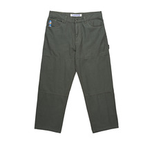 View the Polar Skate Co 93 Canvas Pant - Grey Green from the Jeans & Pants clothing range online today from Boarderline