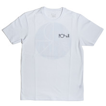 Polar Skate Co AMTK Fill Logo T-Shirt - White