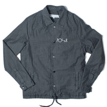 Polar Skate Co. Coach Jacket - Washed Black