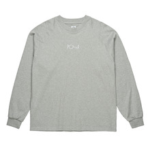 View the Polar Skate Co Default Long Sleeve - Heather Grey from the T-Shirts clothing range online today from Boarderline