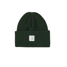 View the POLAR SKATE CO DOUBLE FOLD MERINO BEANIE - DARK GREEN from the Beanies clothing range online today from Boarderline