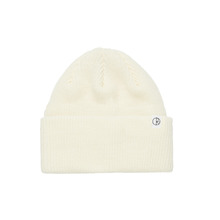 View the Polar Skate Co Merino Beanie - Ivory from the Beanies clothing range online today from Boarderline