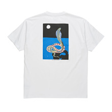 View the Polar Skate Co Midnight Snake T-Shirt - White from the T-Shirts clothing range online today from Boarderline