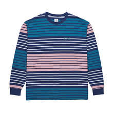 View the Polar Skate Co Multi Colour Long Sleeve - Navy/Pink from the T-Shirts clothing range online today from Boarderline
