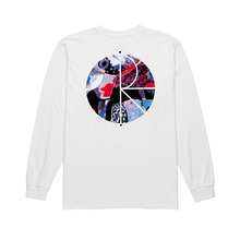 View the Polar Skate Co Orchid Fill Logo Longsleeve - White from the T-Shirts clothing range online today from Boarderline