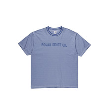 View the Polar Skate Co Outline Stripe T-Shirt - Blue from the T-Shirts clothing range online today from Boarderline