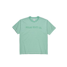 View the Polar Skate Co Outline Stripe T-Shirt - Green from the T-Shirts clothing range online today from Boarderline