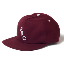 Polar Skate Co PSC 5 Panel Cap - Burgundy