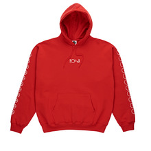 View the Polar Skate Co Racing Hood - Red from the Hoods and Crews clothing range online today from Boarderline