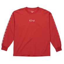 View the Polar Skate Co Racing Long Sleeve - Red from the T-Shirts clothing range online today from Boarderline