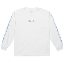 View the Polar Skate Co Racing Long Sleeve - White from the T-Shirts clothing range online today from Boarderline