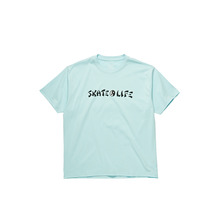 View the Polar Skate Co Skatelife T-Shirt - Aquamarine from the T-Shirts clothing range online today from Boarderline