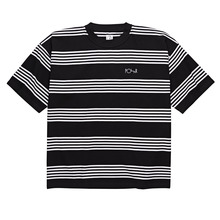 View the Polar Skate Co Striped Surf Tee - Black/White from the T-Shirts clothing range online today from Boarderline