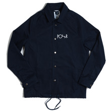 Polar Skate Co Stroke Logo Coach Jacket - Navy