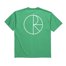 View the Polar Skate Co Stroke Logo T-Shirt - Green from the T-Shirts clothing range online today from Boarderline