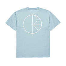 View the Polar Skate Co Stroke Logo Tshirt - Light Blue from the T-Shirts clothing range online today from Boarderline