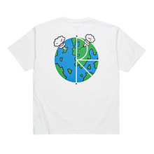 View the Polar Skate Co World Fill T-Shirt - White from the T-Shirts clothing range online today from Boarderline