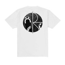 View the Polar Skate Happy/Sad T-Shirt - White from the T-Shirts clothing range online today from Boarderline