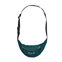 View the Polar Skate Script Logo Hip Bag - Dark Green from the Belts & Wallets clothing range online today from Boarderline