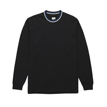 View the Polar Striped Rib Long Sleeve - Black from the T-Shirts clothing range online today from Boarderline