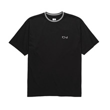 View the Polar Striped Rib T-Shirt - Black from the T-Shirts clothing range online today from Boarderline