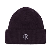 View the Polar Stroke Logo Beanie - Aubergine from the Beanies clothing range online today from Boarderline