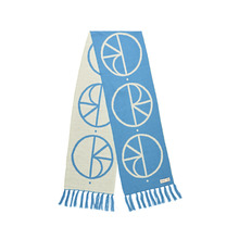 View the Polar Stroke Logo Scarf - Blue from the Beanies clothing range online today from Boarderline