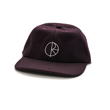 View the Polar Wool Cap - Aubergine from the Snapbacks, 6 Panel Caps clothing range online today from Boarderline