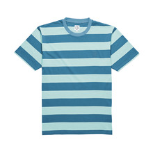 View the Polar X Dear Skating Block Stripe T-Shirt - Mint/Teal from the T-Shirts clothing range online today from Boarderline