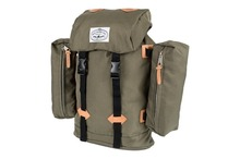 View the Poler Stuff Classic Rucksack - Burnt Olive from the Backpacks clothing range online today from Boarderline