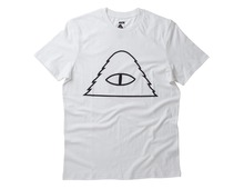 Poler Stuff Cyclops Outline T-Shirt - White
