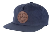 View the Poler Stuff Enlightenment Cap - Navy from the Snapbacks, 6 Panel Caps clothing range online today from Boarderline