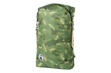 View the Poler Stuff Rolltop 2.0 Pack - Green Camo from the Backpacks clothing range online today from Boarderline