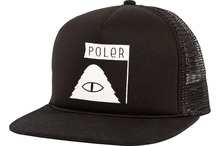 View the Poler Stuff Summit Mesh Trucker Cap - Black from the Snapbacks, 6 Panel Caps clothing range online today from Boarderline