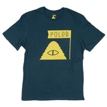 View the Poler Stuff Summit T-Shirt - Blue from the T-Shirts clothing range online today from Boarderline