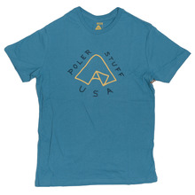 View the Poler Stuff Tent T-Shirt - True Blue from the T-Shirts clothing range online today from Boarderline