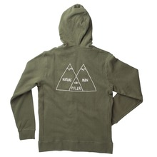 Poler Stuff Venn Diagram Hood - Army Green