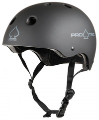 View the PROTEC PRO CLASSIC CERTIFIED HELMET - MATTE BLACK  from the Helmets/Pads clothing range online today from Boarderline