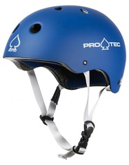 View the Protec Pro Classic Certified Helmet - Matt Blue from the Helmets/Pads clothing range online today from Boarderline