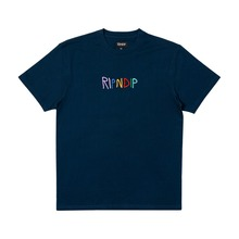 View the Rip N Dip Embroidered Logo T-Shirt - Navy from the T-Shirts clothing range online today from Boarderline