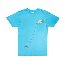 View the Rip N Dip Foreign Fish Pocket Tee - Light Blue from the T-Shirts clothing range online today from Boarderline