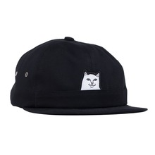 View the Rip N Dip Lord Nermal 6 Panel Pocket Cap - Black from the Snapbacks, 6 Panel Caps clothing range online today from Boarderline