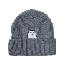 View the Rip N Dip Lord Nermal Beanie - Heather Grey from the Beanies clothing range online today from Boarderline